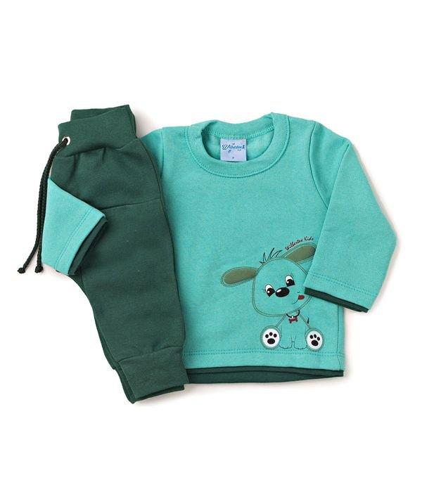 Conjunto Bebê Silk Cachorro Verde Wilbertex Kids. 0 avaliação - Faça uma  avaliação · 3756 1 74971ab6d04