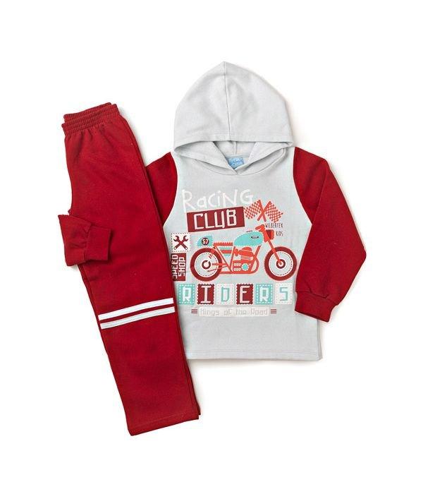 Conjunto Infantil Silk Racing Cinza Wilbertex Kids. 0 avaliação - Faça uma  avaliação · 3788 2 bc3b60e6712