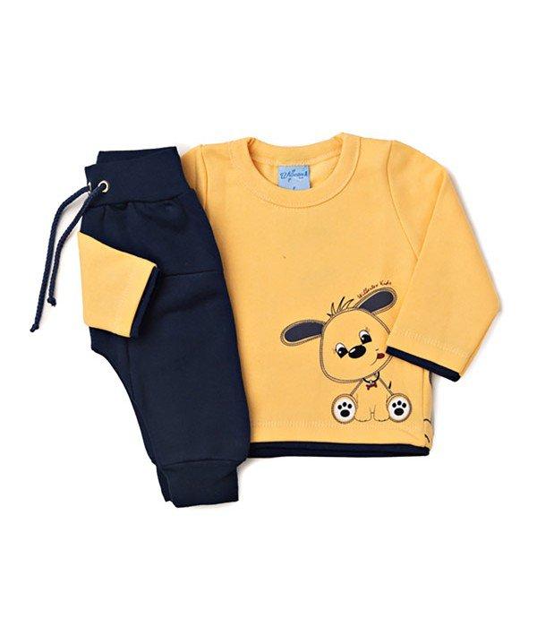 Conjunto Bebê Silk Cachorro Amarelo Wilbertex Kids. 0 avaliação - Faça uma  avaliação · 3756 9bbf16e0622