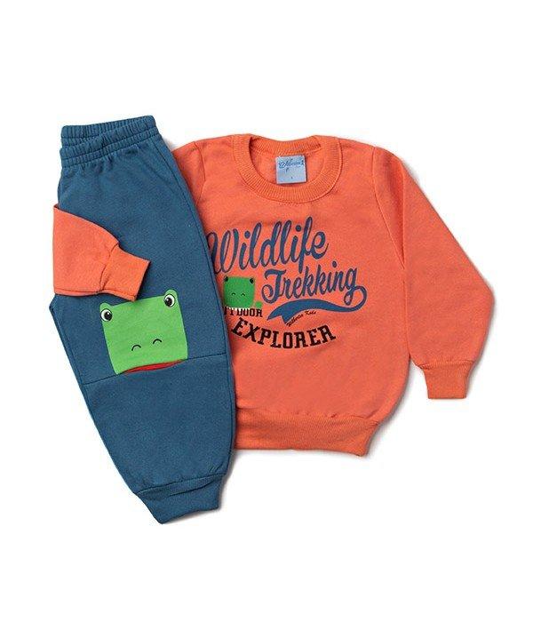 Conjunto Kids Silk Sapinho Laranja Wilbertex Kids. 0 avaliação - Faça uma  avaliação · 4057 1 8c7ce3f7cc3