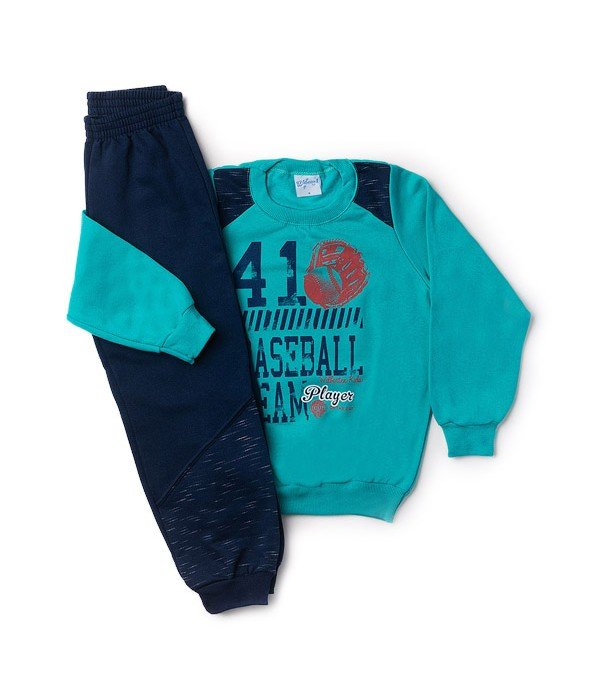 Conjunto Infantil Silk Baseball Verde Wilbertex Kids. 0 avaliação - Faça  uma avaliação · 4075 2 5b75e3fd89f