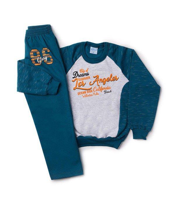 Conjunto Infantil Silk Los Angeles Petróleo Wilbertex Kids. 0 avaliação -  Faça uma avaliação · 4083 2 4718427c226