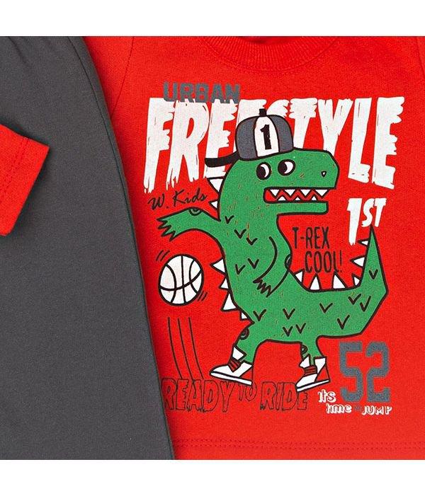 Conjunto Kids Silk Freestyle Vermelho W.Kids 62caf34ec79